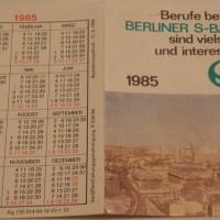 Die S-Bahn in Ost-Berlin
