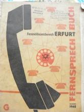 Telefonbuch Erfurt 1968