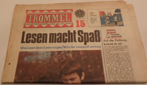Trommel Zeitung