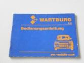 Wartburg Bedienungsanleitung