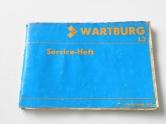 Wartburg Service-Heft