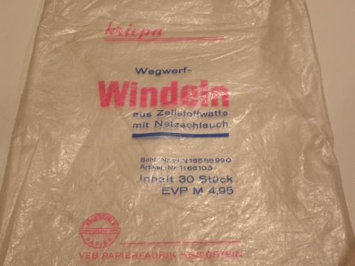 kriepa Windeln Tüte