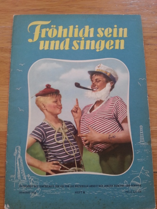 FröSi Heft 6 1954
