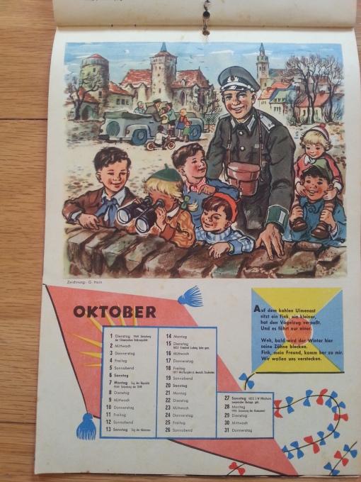 FröSi Kalender 1956