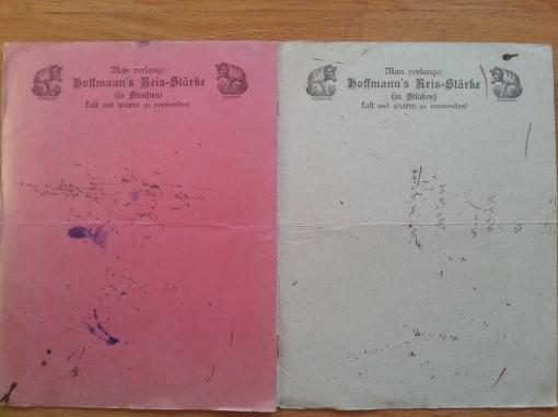 Hoffmann's Stärke Löschpapier