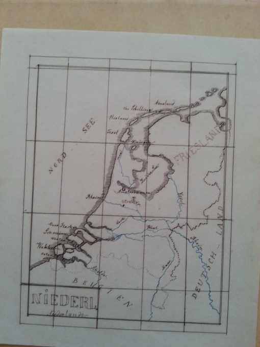 gezeichnete Landkarten