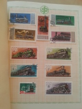 Briefmarken Heft Transport Sowjetunion