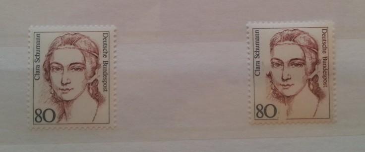Briefmarken Abart