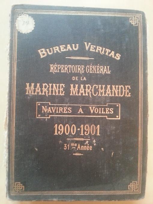 Buch Schiff Verzeichnis (Compagnie Generale Transatlantique)