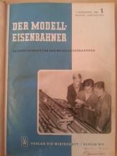 Zeitschrift Der Modelleisenbahner 1954 - 1957