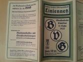 BVG Liniennetz Plan Berlin 1937