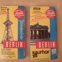 Falk Stadtplan Berlin - 1977 und 1994