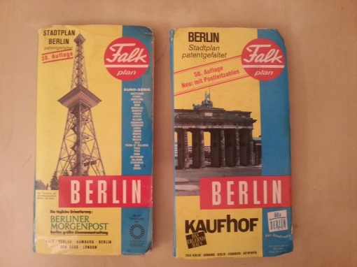 Stadtplan Falkplan Berlin 1977 1994