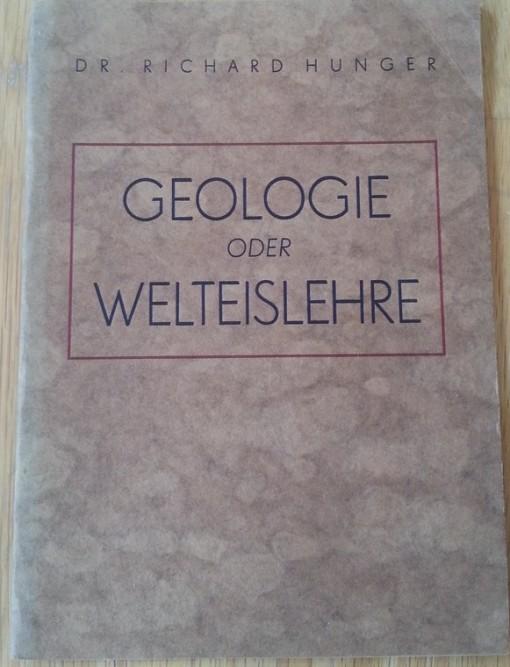 Buch Geologie oder Welteislehre