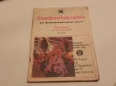Taschenfahrplan Deutsche Reichsbahn 1975