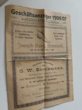 Geschäftsanzeiger 1906/07