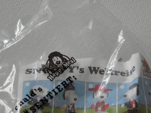 McDonald's Happy Meal Snoopy