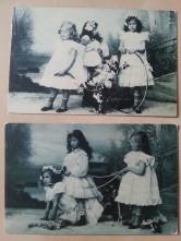Postkarte Kinder