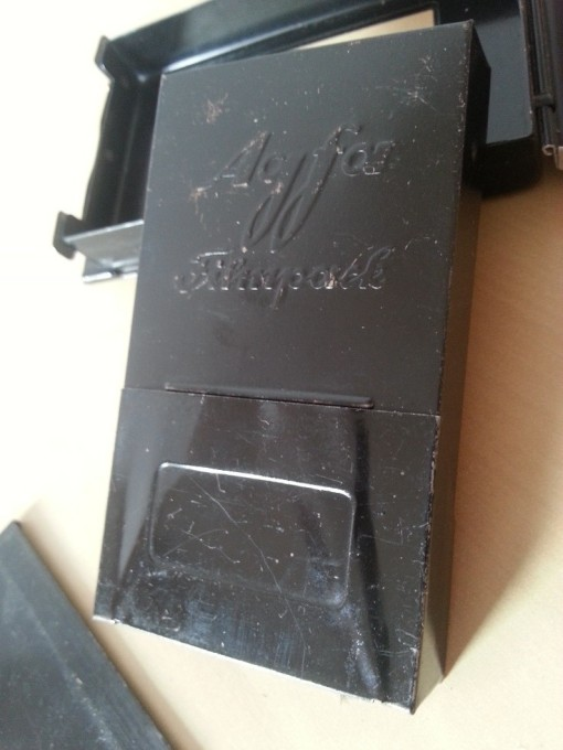 Photoplatten Agfa Isochrom Filmpack