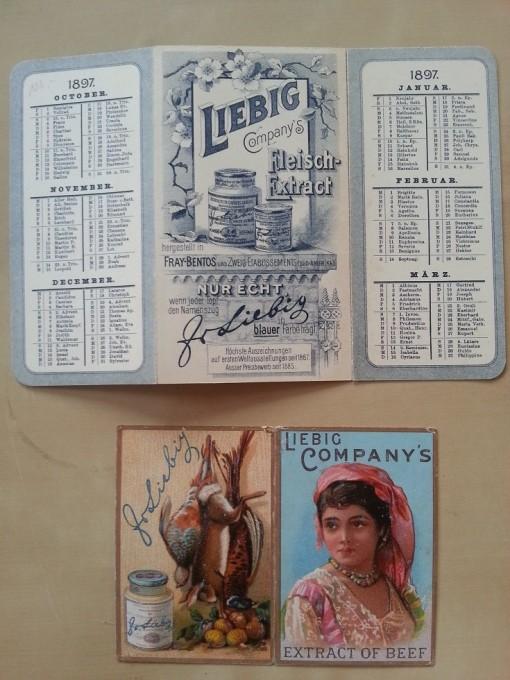 Liebig Kalender 1897 1889