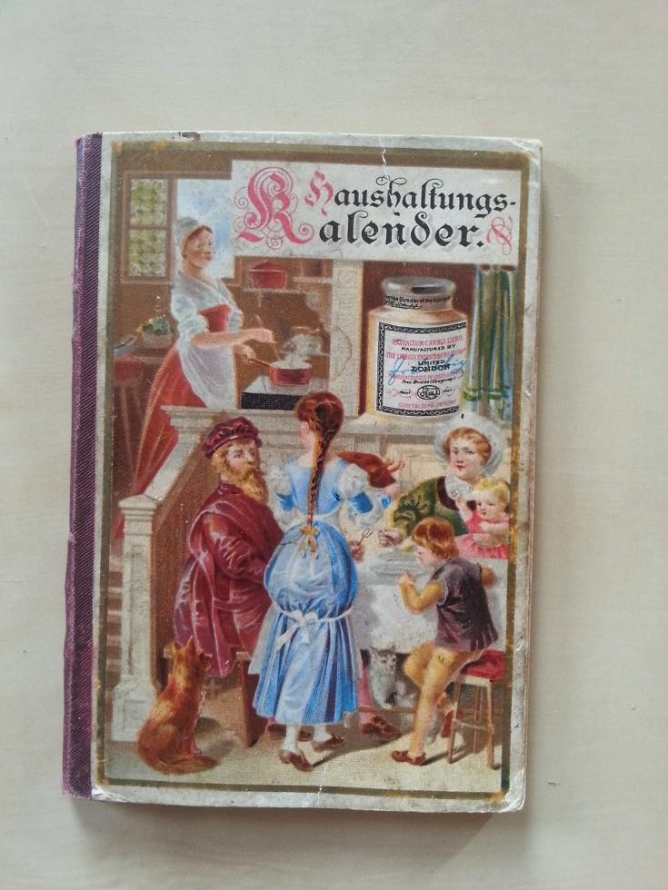 Liebig Haushaltungs-Kalender 1890