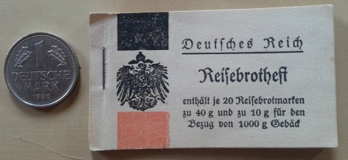 Reisebrotheft 1917