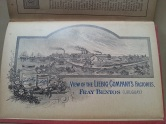 Liebig Kochbuch England 1898 Fray Bentos