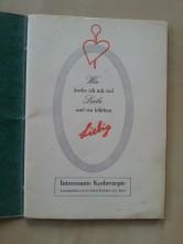 Liebig Kochbuch Schweiz 1950