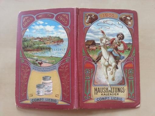 Liebig Haushaltungs-Kalender 1905