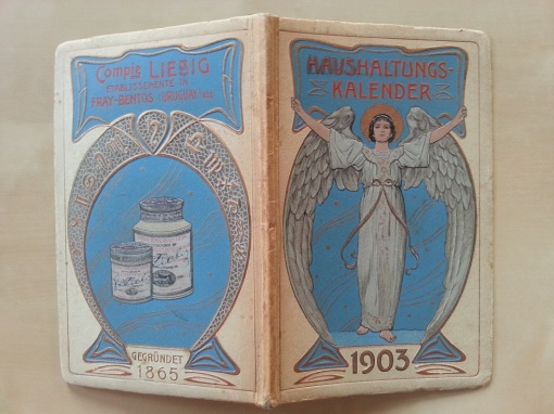 Liebig Haushaltungs-Kalender 1903