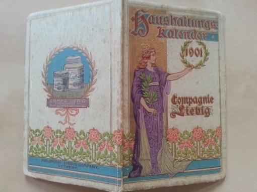 Liebig Haushaltungs-Kalender 1901