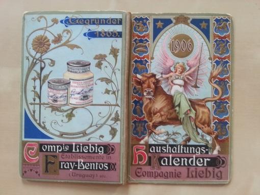 Liebig Haushaltungs-Kalender 1906