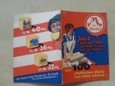 Werbung Heft die frische Resi Margarine