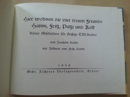 Putzi Buch 1939