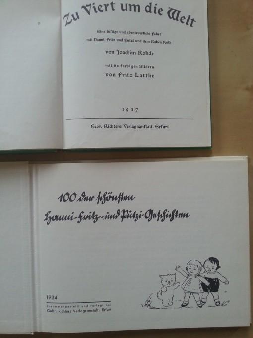 Putzi Buch Zu Viert um die Welt und Die 100 schönsten Geschichten