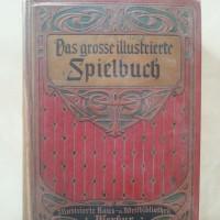 Gesellschaftsspiele im Lauf der Zeit 3 - Spiele-Buch von 1920 und 1970