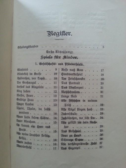 Das große Spielebuch 1901