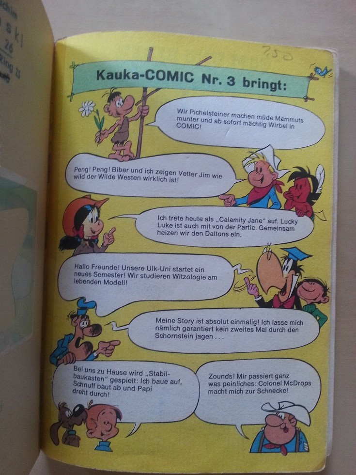 Kauka Comic 1969 1970