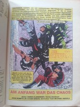 Comic Die Gruppe X - X-Men 1991