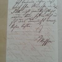 Zu meinem allergrößten Bedauern - eine Bewerbungsabsage - 1874