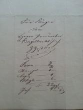 von Damm Beläge 1845 1846