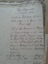 von Damm 1771