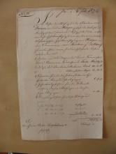von Damm Brief 1846