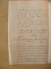 von Damm Brief 1844
