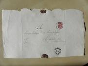 von Damm Brief 1889