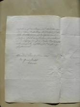 von Damm Brief 1903