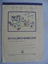 DDR Schulzeichenblock