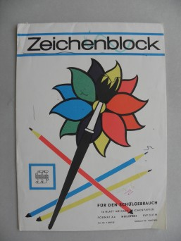 DDR Zeichenblock