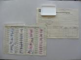 DDR Gewerkschaftsmitgliedskarte