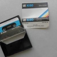 C60, C90, C120 oder nur K60 - Magnetbandkassetten